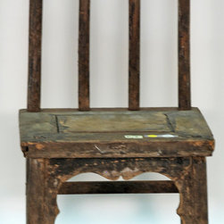 Antique Chinese Pencil Back Chairs, Small - Antique Chinese Pencil Back Chairs, Small