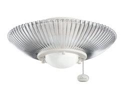 Kichler Lighting - Kichler Lighting Decor Ribbed Ceiling Fan Light Kit X-WNS211083 - Kichler Lighting Decor Ribbed Ceiling Fan Light Kit X-WNS211083