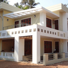 Contemporary Exterior by Arkitecture studio,architects,interior designers