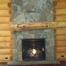Rustic Fireplaces Find Unique Fireplace Designs Online