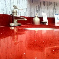 Gem Cabinets Showroom - Tops by World Stone www.worldstone.ca