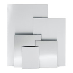"""Blomus - Muro Magnetic Note Boards - 19.7"""" x 23.6"""" - It's not exactly a blank slate. Think of it more as a modernistic intersection for all the thoughts, photos and plans of your life. This magnetic note board creates a flexible and accessible freeway for expression. """"Blank"""" will not be the operative word here."""