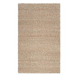 Country Living - Country Living Country Jutes Rug X-85-9202JTC - Another inspired ensemble from Country Living, the Country Jutes Collection exemplifies the essence of casual style. Hand-woven from all natural jute in monochromatic shades of beige, each rug combines fibers to create a variety of patterns that exude a simple elegance ideal for traditional to transitional interiors.