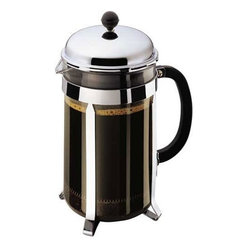 Bodum Chambord 12-Cup Coffee Press - Your guests will appreciate this gigantic French press. It makes 12 cups and is way more stylish than that clunky ancient coffee maker you have collecting dust somewhere.