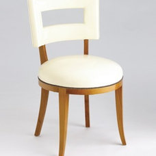 contemporary dining chairs and benches by Jan Showers