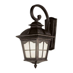 Trans Globe Lighting - Trans Globe Lighting PL-5424 AR Outdoor Wall Light In Antique Rust - Part Number: PL-5424 AR