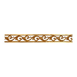 uDecor - GF-2056H Ornamental - For anyone looking for an elegant way to adorn your home or business, our gold foil products are the perfect way to achieve your desired look. Made out of polyurethane and then coated with 18k gold foil, these products are sure to leave your family and clients impressed.  Made from dense polyurethane
