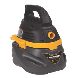 PRO-TEAM - 2.5 Gal Workshop Vacuum - Compact lightweight easy to carry/store. Handy for quick pick-ups. Includes: vac, hose, nozzles: utility and car, filter bag