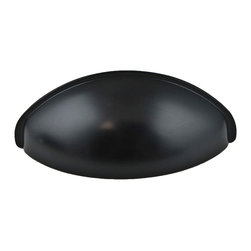Berenson - Black Cup Pulls - Berenson item number 0967-155-P is a beautifully finished Black Cup Pulls. Product Diminsion(s): Hole Spacing: 64.008 mm. / 2 17/32 in.Diameter: 31.75 mm. / 1 1/4 in.Base Diameter: 17.526 mm. /  11/16 in.Projection: 25.4 mm. / 1 in.