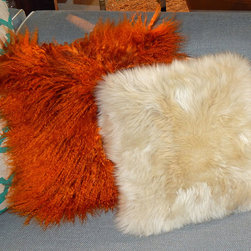 Sheepskin Pillows - Long Wool Sheepskin Square Pillows https://www.ultimatesheepskin.com/product/long-wool-sheepskin-pillows/