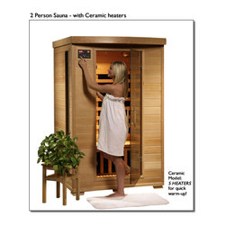 "Blue Wave - Blue Wave 2Person Ceramic Infrared Sauna - Coronado - 2 Person Infrared Sauna With Ceramic Heaters The Coronado 2 Person Infrared Sauna Is Perfect For Relaxing And Rejuvenating And Will Fit In Virtually Any Room In The House. The Natural Hemlock Wood Color Will Enhance Any Decor. Its Dual Interior And Exterior Led Control Panels Allow For Easy Temperature Control. Coronado Is Available In Ceramic Or Carbon Heater Options And Is Loaded With Tons Of Extras, Including Towel Hooks & Magazine Racks, Cd Player With Mp3 Plug-In, 2 Speakers, Backrests, Color Therapy Light And An Oxygen Ionizer. Coronado Is Perfect For Basking In The Warmth With Your Special Someone - Add One To Your Home Today! Heaters 5 Ceramic Heaters - More Heaters Means Your Heatwave Infrared Sauna; Is More Effective! Location - The Coronada Ceramic Sauna Has 2 Ceramic Heaters On The Back Wall, 1 On The Front Of The Bench, And 1 On Each Side Of The Sauna. These 5 Ceramic Heaters Evenly Bask You In Soothing Infrared Heat. Infrared Wavelength - Heatwave Saunas Put Out Infrared Wavelengths From 5-12 Microns, Which Are The Portions Of Infrared Heat That Most Benefit The Human Body. Operating Temperature - Heatwave Saunas Operate Up To 141 Degrees F. 1600 Watts - See Power Distribution Diagram For Individual Heater Wattages. Wood & Construction Heatwave Saunas; Are Made Of Solid Hemlock Wood And Constructed With Tongue & Groove Assembly. The Exterior Of The Sauna Is Stained With An Appealing, Natural Color; The Interior Is Smooth Sanded Natural Wood. Power Requirements This Heatwave Sauna; Uses 120V/15Amp Power, And Will Plug Right Into Your Standard Home Electric Outlet. No Need To Upgrade Or Change Out Electrical! Control Panel Heatwave Saunas; Come Equipped With Dual Easy-Touch Interior And Exterior Led Control Panels - Easily Adjust Your Sauna Settings From Inside Or Outside. Bronze Tinted Glass The Door And Glass Panels On Heatwave Saunas; Are Made Of Beautiful, 7Mm Thick, Bronze Tinted Tempered Glass. The Tint Provides A Bit Of Privacy And Aids In Heat Retention, While Providing The Safety Of Tempered Glass. Lighting Sauna Is Equipped With Interior And Exterior Lighting, As Well As A Color Therapy Light With Remote. Enjoy Some Reading While Basking In The Warmth Of Your Heatwave Sauna; Sound System The Coronado Comes Standard With A Radio With Cd Player And Aux Mp3 Connection With 2 Built In Speakers, So You Can Crank Up Your Favorite Tunes While Soaking Up All The Health Benefits Of Your Sauna! Other Inferior Sauna Brands Make You Pay Extra For This Option, But Every Heatwave Sauna; Comes With A Sound System Standard. Air Vents The Adjustable Roof Vent Allows You To Open The Vent To Bring In Outside Air If Desired. Vent Holes In The Floor Help Provide Air Circulation. Color Therapy Bulb The Color Therapy Bulb Allows You To Bask In Rotating Colors, Or Choose A Steady Stream Of One Of The Six Available Colors. Enhances The Sauna Experience. Other Sauna Brands Offer This As An Option For An Additional Cost, But The Color Therapy System Is Included With This Heatwave Sauna; An $89.95 Value! Ergonomic Back Rests The 2 Person Heatwave Saunas; Include 2 Backrests, For Ultimate Sauna Comfort. Back Rests Can Be Moved To Any Desired Location, Making Your Sauna Session Even More Comfortable And Enjoyable. Oxygen Ionizer The Included Electronic Oxygen Ionizer Releases Negative Ions, Which Help Purify The Air In Your Sauna, Keeping It Clean And Fresh. The Ionizer Is An Optional Feature With Many Inferior Sauna Brands, But It's Included In This Heatwave Sauna;! A $49.95 Value! Specifications Capacity - The Coronado Will Comfortably Seat 2 People On The Extra Deep Bench That Runs Along The Back Wall Of The Sauna. Product Dimensions - Once Assembled The Coronado Sauna Measures Approximately 47; X39; X75; See Sauna Dimensions Diagrams For Details. Product Weight - 300 Lbs Assembly - Heatwave Saunas; Come Partially Assembled, And To Complete Assembly You Will Need 2 People, A Screwdriver, A Ladder And About An Hour. Comprehensive Instruction Manual Is Included, And In A Very Short Amount Of Time Your Sauna Will Be Ready For Use! Warranty 5-Year Warranty On Heaters, Structure & Electrical. 1-Year Warranty On Radio. Certifications Heatwave Saunas; Are Proudly Backed By Cetl, Which Is Etl Valid In U.S. And Canada. Shipping Information Shipping Weight - 319 Lbs # Of Cartons - 2 Shipment Dimensions - 78"" X 54"" X 30"""