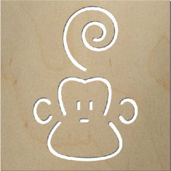 Spot On Square - Marcel the Monkey Wall Decor