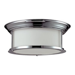 Z-Lite - Z-Lite Sonna Ceiling Light X-HC-61F3002 - Modern chrome and matte opal shades give this three light Ceiling Light lamp a clean and crisp look.