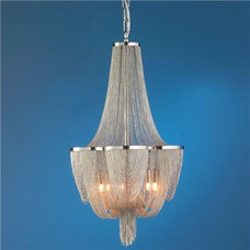 Mesh Curtain Chandelier - Shades of Light