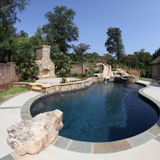 Contemporary Pool by Signature Pools & Patios