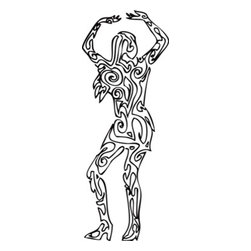 Walls Republic - Jive Wallpaper Mural M9036 - Get ready to groove with this black and white dancing female mural. It will make you feel party ready all the time. Due to this item being a custom order, it takes longer to ship than our regular products.