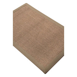 Jaipur - Natural Fiber Naturals Sanibel Plus 8'x10' Rectangle Kari Area Rug - The Naturals Sanibel Plus area rug Collection offers an affordable assortment of Natural Fiber stylings. Naturals Sanibel Plus features a blend of natural Kari color. Natural of 100% Sisal the Naturals Sanibel Plus Collection is an intriguing compliment to any decor.