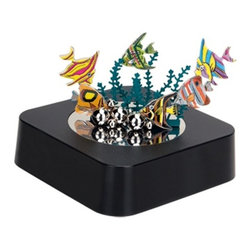 """Kito - 3.5 Inch """"Virtual Aquarium"""" Themed Magnetic Desk Organizer, Black - This gorgeous 3.5 Inch """"Virtual Aquarium"""" Themed Magnetic Desk Organizer, Black has the finest details and highest quality you will find anywhere! 3.5 Inch """"Virtual Aquarium"""" Themed Magnetic Desk Organizer, Black is truly remarkable."""