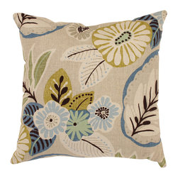 Pillow Perfect Tropical 18-inch Throw Pillow -