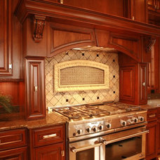 Traditional Kitchen Cabinetry by Kitchen & Bath Design Service