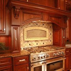 Traditional Kitchen Cabinets by Kitchen & Bath Design Service