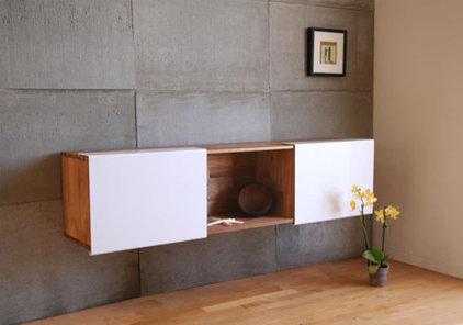 modern wall shelves by LAXseries