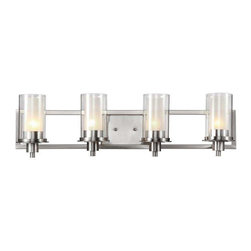 Trans Globe Lighting - Trans Globe Lighting 20044 Bathroom Light In Brushed Nickel - Part Number: 20044
