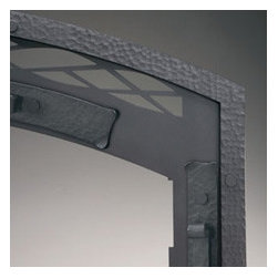 Modern Marble Wood Stove Insert - http://www.lennoxhearthproducts.com/products/fireplaces/montecito/