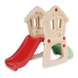 Little Tikes - Little Tikes Hide & Seek Climber - Your child will havce fun both indoor and outdoor with this Hide & Seek Climber. It is lightweight and sturdy and provides an easy rock climbing wall for beginnings.