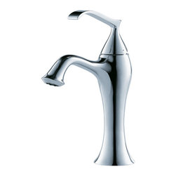Kraus - Kraus Ventus Single Lever Basin Faucet Chrome - *At Kraus, we use various elements of design to impress and make a statement in order to turn your private space into a truly unique one