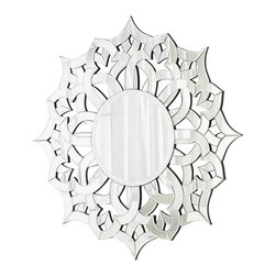 Pieced Glass Ornate Nebula Mirror - *Nebula Mirror