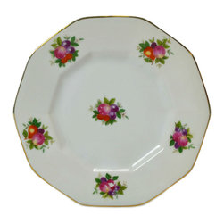 Lavish Shoestring - Consigned 6 Small Plates by Rosenthal, Vintage German - This is a vintage one-of-a-kind item.