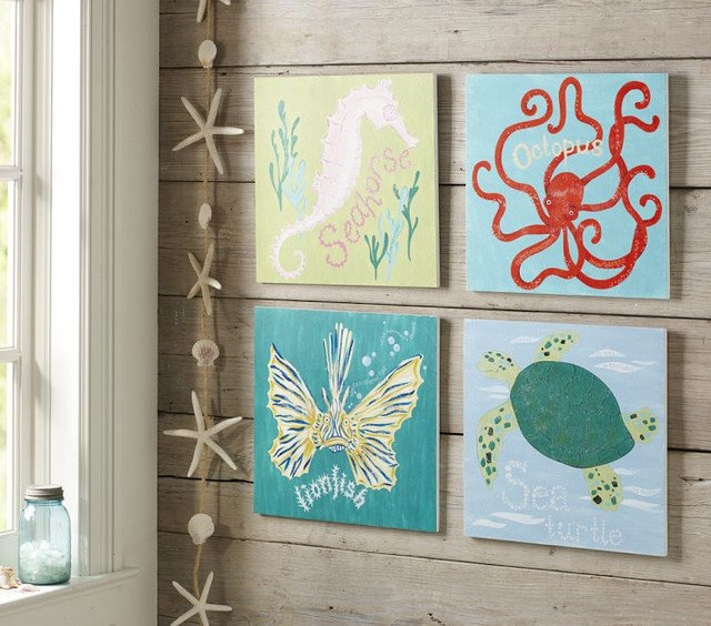 Starfish Wall Decor Pottery Barn : Guest picks nautical finds
