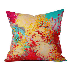 DENY Designs - Stephanie Corfee Young Bohemian Throw Pillow - Wanna transform a serious room into a fun, inviting space? Looking to complete a room full of solids with a unique print? Need to add a pop of color to your dull, lackluster space? Accomplish all of the above with one simple, yet powerful home accessory we like to call the DENY throw pillow collection! Custom printed in the USA for every order.