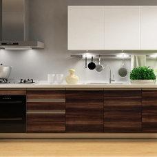 Modern Kitchen Cabinets by Jingzhi houseware manufacturer