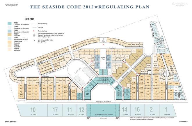 Site And Landscape Plan Seaside