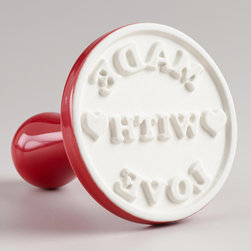 'Made With Love' Cookie Stamp - I love the idea of a cookie stamp. It's simple, sweet and to the point.