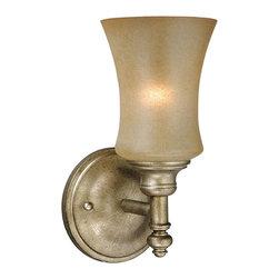 Vaxcel - Vaxcel NB-VLU001VB Newbury 1-Light Vanity Venetian Brass - Vaxcel NB-VLU001VB Newbury 1-Light Vanity Venetian Brass