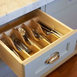 Portland Heights Kitchen - Silverware organization.