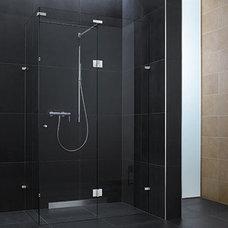 Modern Showers by Bartels Doors & Hardware