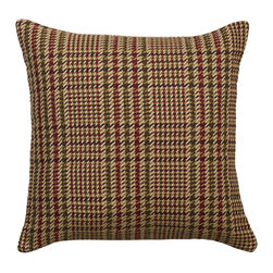 """Mystic Valley - Mystic Valley Traders Montana - 18"""" Pillow A - The Montana 18"""" pillow A is fashioned from the Cabin fabric on each side, and finished with a clean edge; 18""""x18""""."""