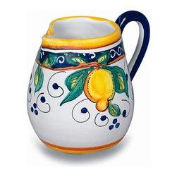 Ceramic - Umbria - Italian Lemons Creamer - Umbria - Italian Lemons Creamer