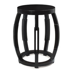 Zara Side Table / Stool - They tables have a touch of exotic Moroccan style yet work well with all styles of rooms. Use one as a side table or bedside table, or emulate Rachel and use a pair in lieu of a coffee table.