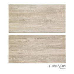 Masonry Center Products - Don Ceramiche Stone Fusion Cream is stocked in size 12 x 24 at The Masonry Center.