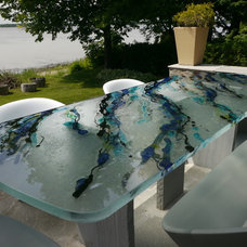 Modern Dining Tables by ThinkGlass