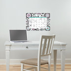 New for Back to School & Dorm Room Decor - Pretty dry-erase calendar decal New for Back to School & Dorm Room Decor