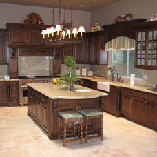 Traditional Kitchen Cabinetry by The Kueffner Company
