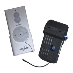Minka Aire Fans - Handheld Remote System RCS223 by Minka Aire Fans - The Minka Aire Handheld Remote System RCS223 transforms your Minka Aire Fan into an air movement and lighting point-n-click, wireless, remote operation. It can be utilized by fans with an existing wall control WC223 radio-frequency system. The Handheld Remote System RC223 features 3 speed fan control and a full range light dimmer. The Minka Group, located in Corona, CA, offers a variety of products, including Minka Aire fans, Minka Lavery lighting, and George Kovacs fans and lighting.