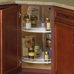 28 Inch Cabinet Lazy Susan - Wire - Full-Round -