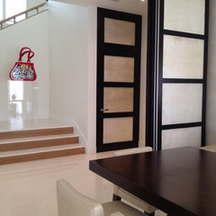 modern interior doors by Infusion Interiors